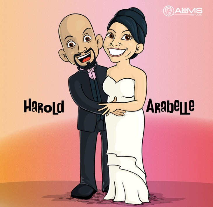 Cartoon-ARABELLE&HAROLD