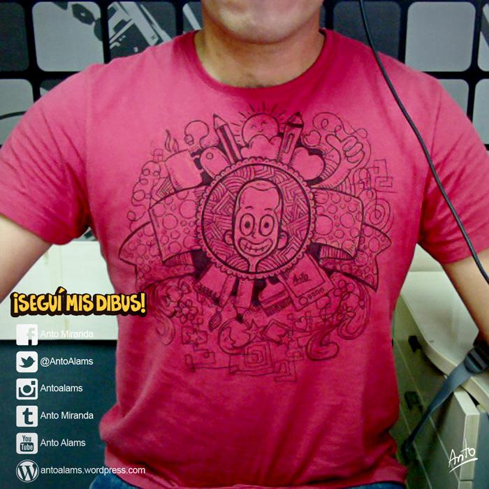 Una camiseta original