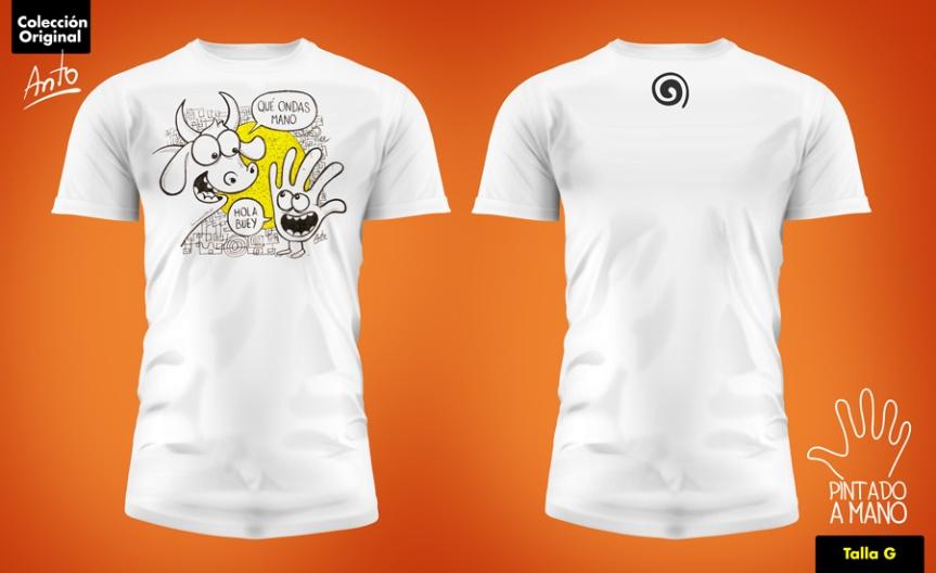 Subasta 06 – CamisetaAnto