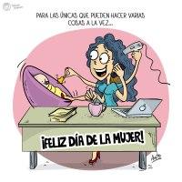 Feliz día del la Mujer