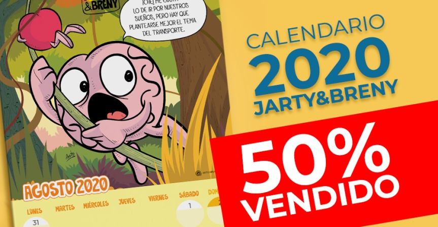 Termina la PRE-VENTA!!!! JARTY&BRENY2020